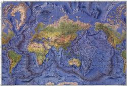 National Geographic Wall Maps of the Oceans